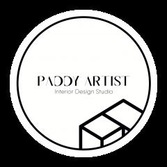 LOGO-Paddy-Artist-Design-GmbH-Weiß-Schwarz